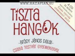 Tiszta hangok + CD - Bródy János dalai - Csaba testvér gyermekei énekelnek