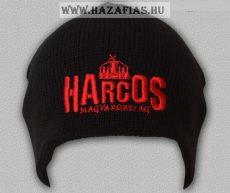 Kötött sapka Harcos-koronás piros  (Kód: KsF09)