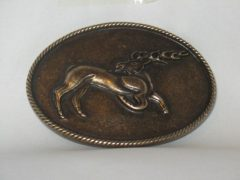 Övcsat Csodaszarvas bronz