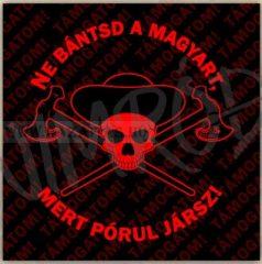 Ne Bántsd a Magyart-matrica