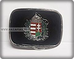 Magyar Címeres marha bőröv- 4 cm