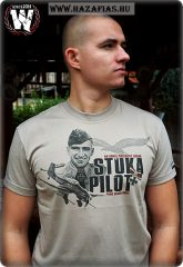Stuka Pilot póló-homok