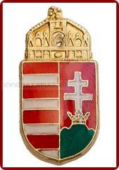 Magyar koronás címer, 15 mm
