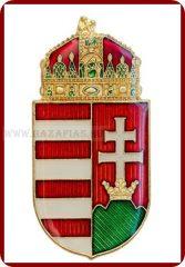 Magyar koronás címer, 38 mm,