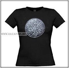 Rakamazi Turul- fekete női póló