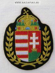 Felvarró - Babérkoszorús címer (10 x 8 cm)