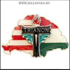 Nagy-Magyarország osztott Trianon kereszttel