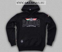 Magyar HARCOS kapucnis belebújós pulóver