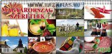 """""""Magyarország Szeretlek"""" asztali naptár"""