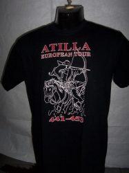 Atilla European Tour póló