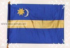 Székely zászló 30x45- fa nyéllel