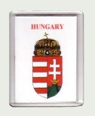 Hűtőmágnes címerrel
