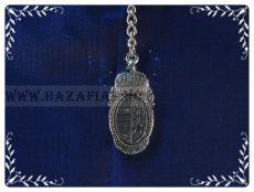 Kulcstartó-Barokk címer-ezüst