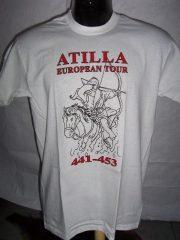 Atilla European Tour póló fehér