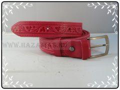 Bőröv-3 cm-piros