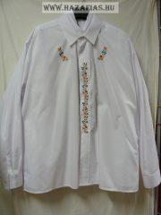 Kézzel hímzett magyaros ing