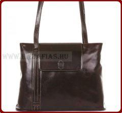 Női bőr táska-prémium