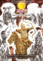Naptár 2017 Nimród Népe Atilla és a Hunok Kertai Zalán festményei és grafikái Obrusanszky Borbála