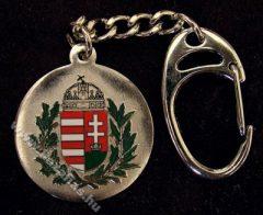Kulcstartó, Lombos címer, nikkel