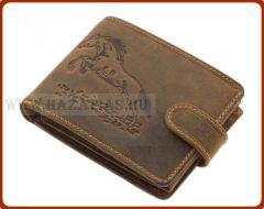 Bőr pénztárca-Ugró ló