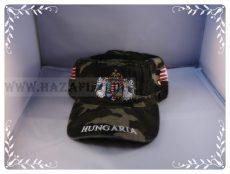 Sapka Angyalos címeres terepszínű-military