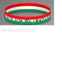 Karkötő szilikonos, Isten áldd meg a magyart! felirattal