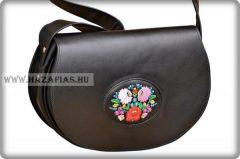 Kalocsai női táska,fekete