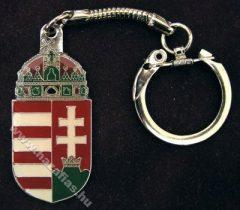 Kulcstartó,Magyar címer, festett korona