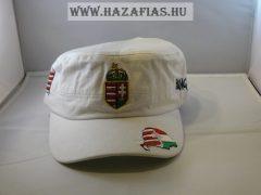 Sapka címeres militari fehér