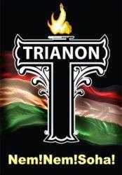 Fa hűtőmágnes Trianon