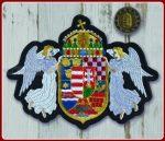 Angyalos címer felvarró-kicsi  10x13 cm