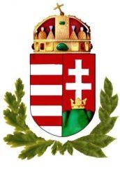 Fa hűtőmágnes lombos címerrel