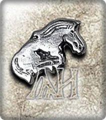 Tuvai lovas medál-ezüst