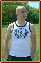 Pajzs-HNB férfi atléta-fehér