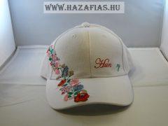 "Sapka kalocsai fehér ""Hungary"""