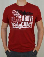 RAD-Rise Above Demokracy-piros