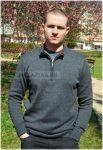 Kötött férfi pulóver