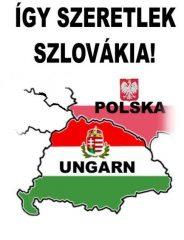 """Fa hűtőmágnes """"szlovákia"""""""