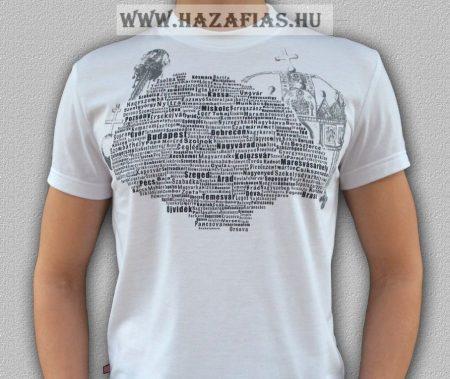 Magyarország póló - Harcos Koronás-Fehér