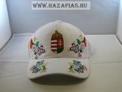 Sapka kalocsai címeres fehér