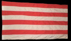 Árpádsávos zászló színenként varrott, dupla 40*60 cm. /piros, fehér/