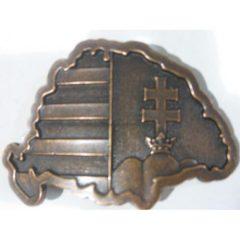 ÖVCSAT,  NAGY- MAGYARORSZÁG antikolt bronz