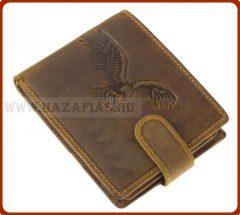 Bőr pénztárca-Turul 2