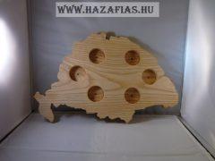 Nagy-Magyarországos pálinka kínáló / vil.barna