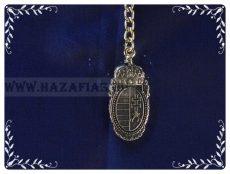 Kulcstartó-Barokk címer-arany