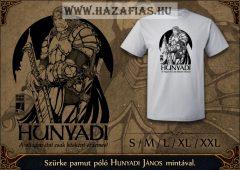 Hunyadi póló szürke