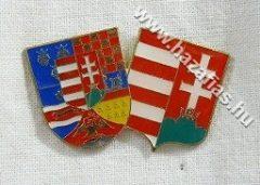 Páros közép címer 38x23 mm