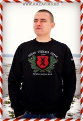 Pajzs-HNB kereknyakú pulóver