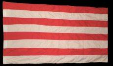 Árpádsávos zászló színenként varrott, dupla  30*40 cm. /piros, fehér/