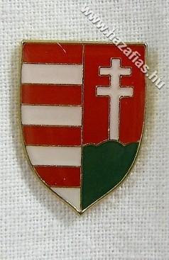 Magyar címeres pajzs 15x20 mm